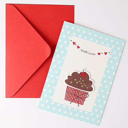 Cupcake Birthday Greeting Card: Greeting Cards