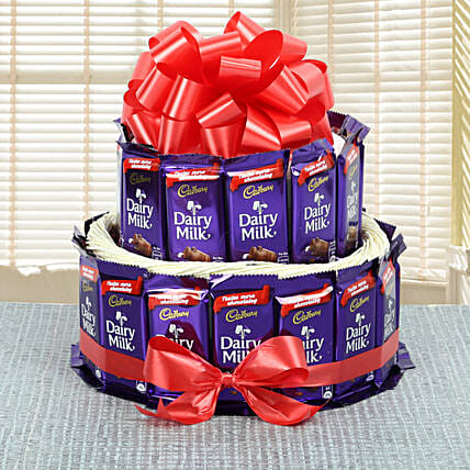 Dairy Milk Chocolate Collection: Send Chocolate Bouquet