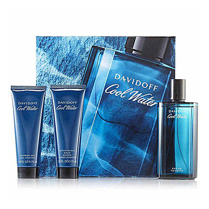 Davidoff Cool Water Gift Set For Men: Gift Hampers