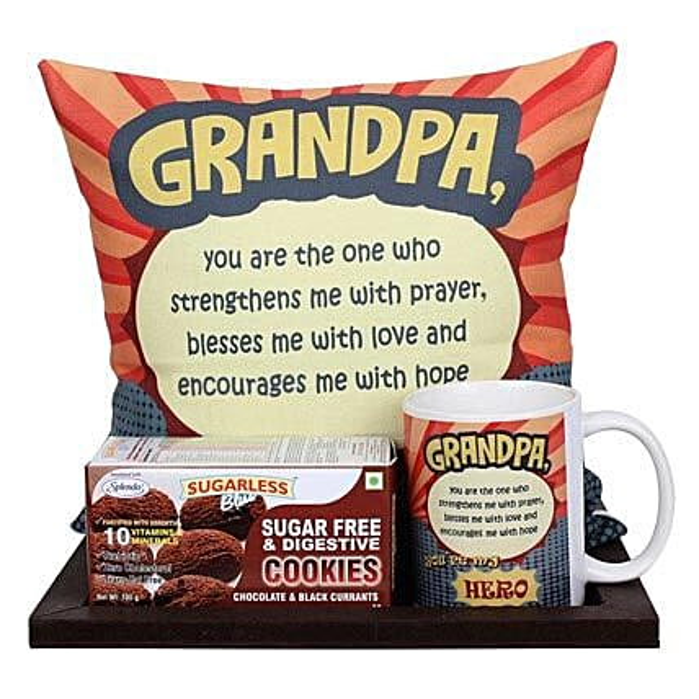 Delightful Grandpa Combo: Gift Hampers