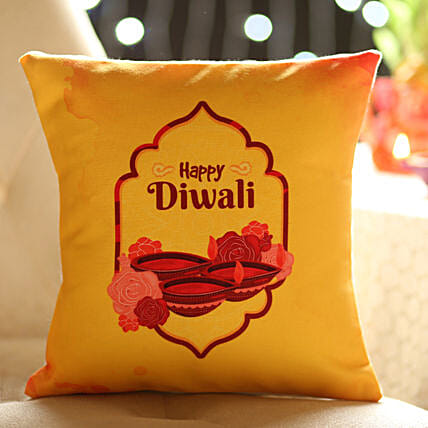 Diwali Wished Cushion: