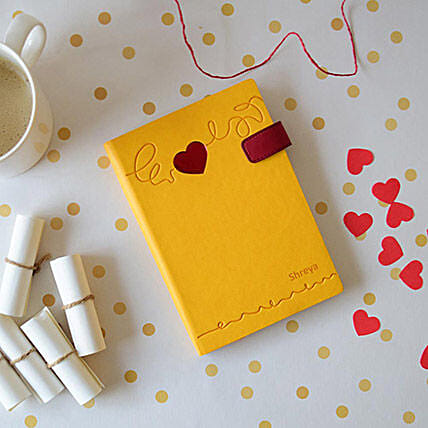 Doodle Heart Beat Personalized Diary: Personalised Stationary