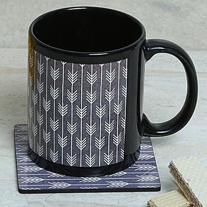 Elegant Choice Mug With Coaster: Coasters