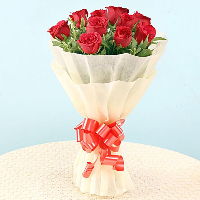 Elegant Red Roses: Red Flowers