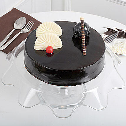Exotic Chocolate Cream Cake:
