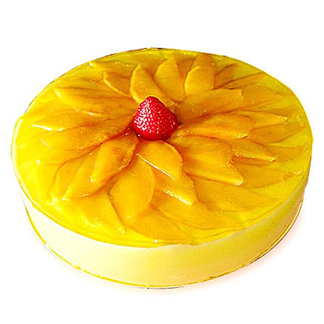 Exotic Mango Cake: Cakes