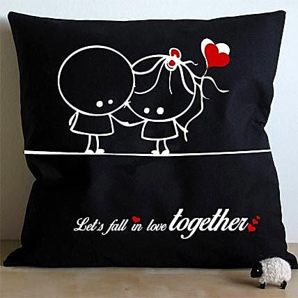 Falling In Love Cushion: Romantic Valentine Gifts