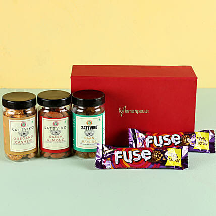 Flavoured Dry Fruits & Chocolates: