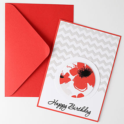 Floral Effect Greeting Card: Gift Ideas