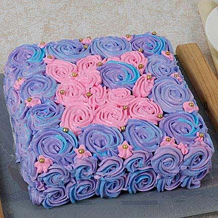 Floral Touch Mothers Day Cake: Rose Cakes