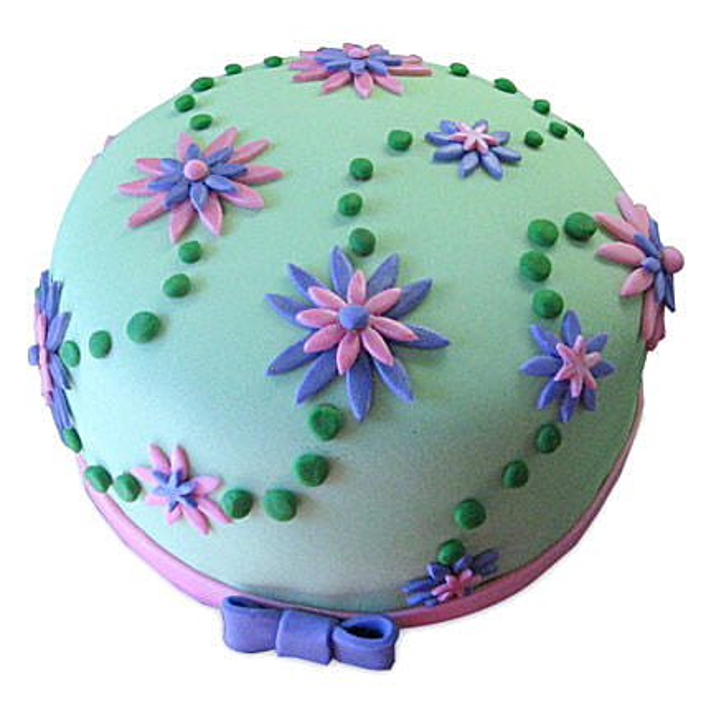 Flower Garden Cake: Designer Cakes