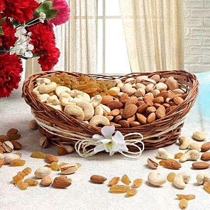 For Nut Lover: Sargi for Karwa Chauth