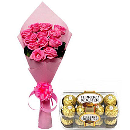 From my Heart: Flowers with Chocolates