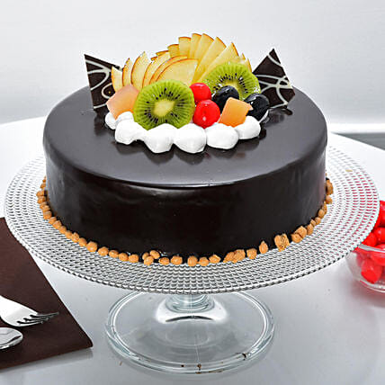 Fruit Chocolate Cake: Cakes