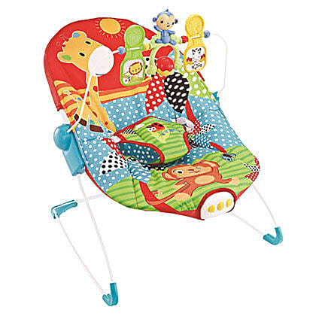 Fun Baby Bouncer Cum Rocker: Kids Toys & Games