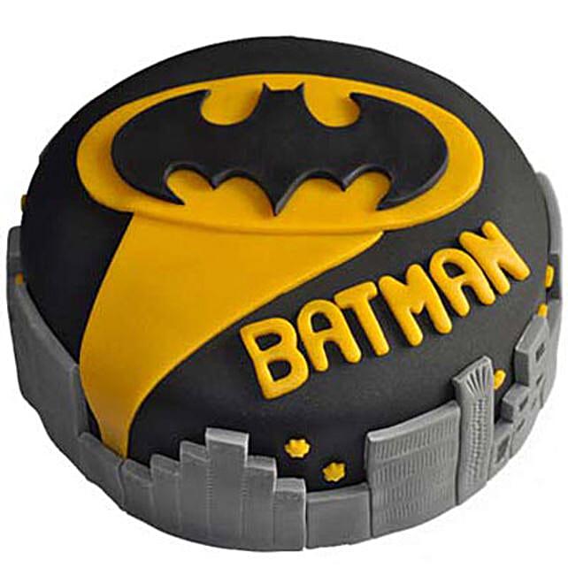 Glitzyy Batman City Cake: Batman Cakes