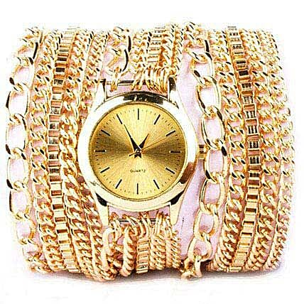 Gold Chain Watch For Women: Buy Watches