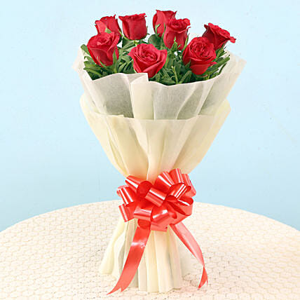 Graceful Red Roses: Roses
