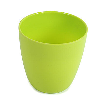 Green Melamine Planter: Pots and Planters