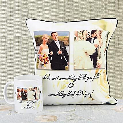 Happliy Ever After Personalized Combo: Personalised Gifts Combos