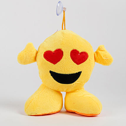 Heart Eyes Emoji Soft Toy Hanging: Soft Toys Gifts