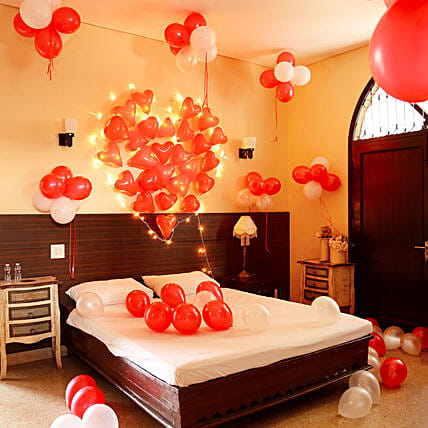 Heart Out of Hearts: Balloons Decorations