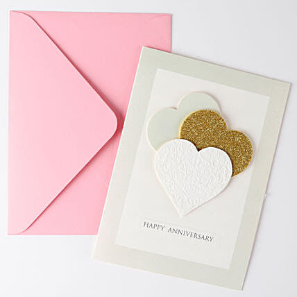 Hearty Greeting Card For Anniversary: Hug Day Gifts