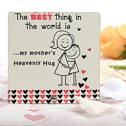 Heavenly Hug Plaque: Plaques Gifts