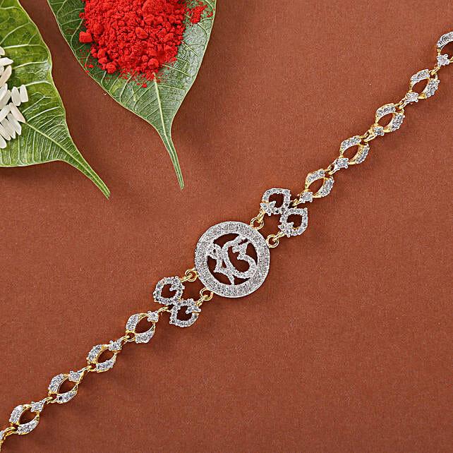 Ik Onkar Spiritual Bracelet Rakhi: Devotional Rakhi