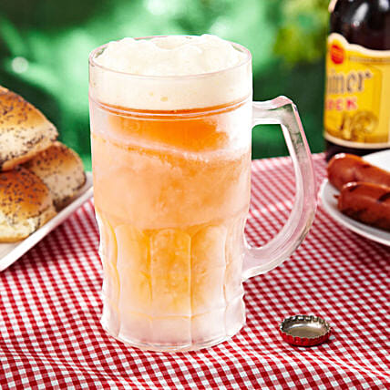 Insulated Frosted Beer Mug: Funny Gifts
