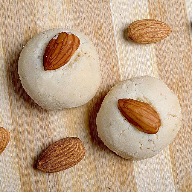 Irani Almond Nankhatai Box- 200 gms: Cookies