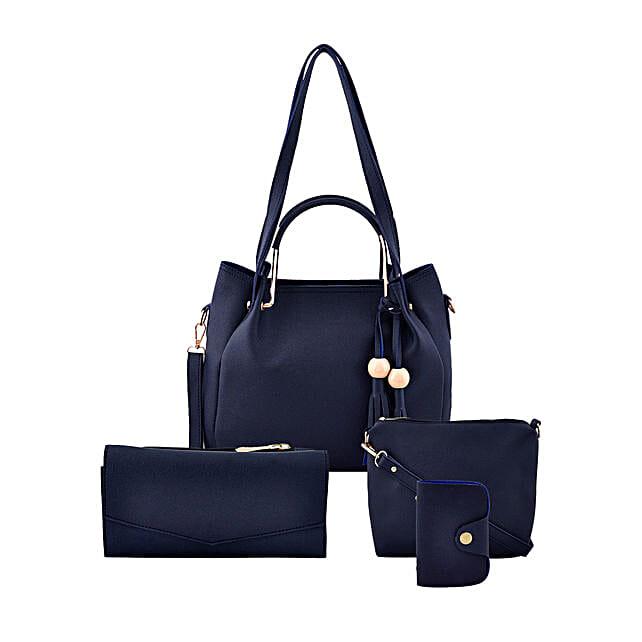 LaFille Blue Bag Set: Handbag Gifts