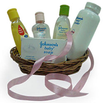 Little Angel Basket: Send New Born Gift Hampers