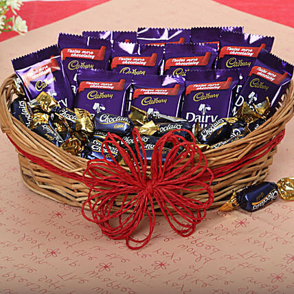 Loaded With Chocolates: Holi Gifts