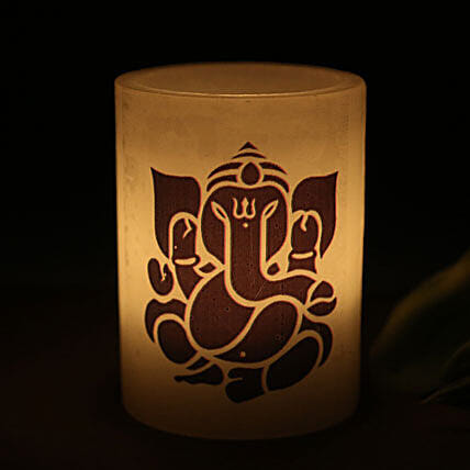 Lord Ganesha Candle: Send Candles