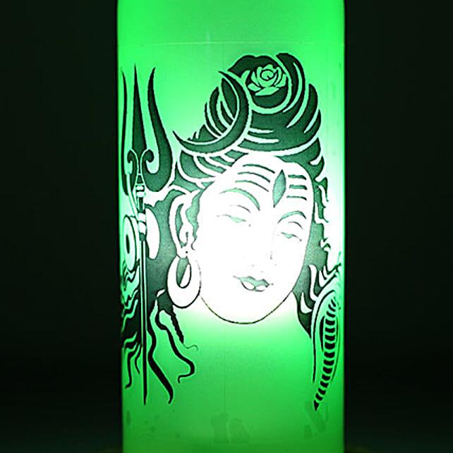 Lord Shiva Lamp: Bottle Lamps