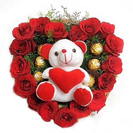 Love Combo: Roses And Teddies