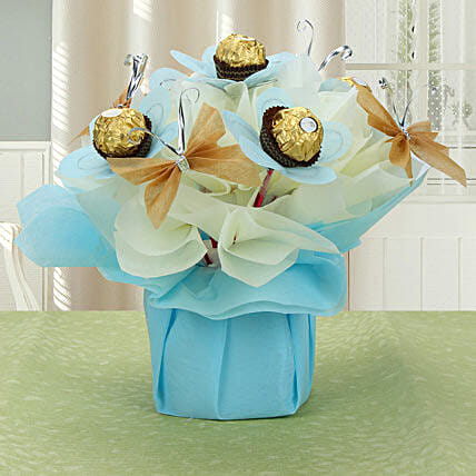 Love For Rochers: Send Chocolate Bouquet