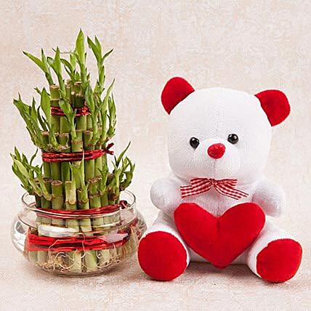 Love N Luck Combo: Hug Day Gifts