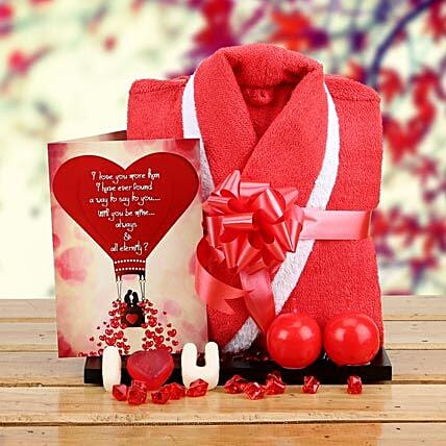 Love n Romance Hamper: Buy Greeting Cards