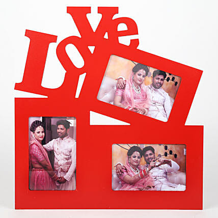 Red Love Photo Frame: Photo Frames