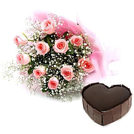 Lovely Blooms: Heart Shaped Gifts