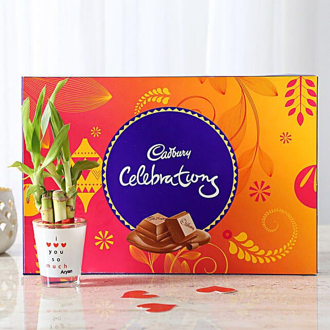 Lucky Bamboo With Cadbury Celebrations: