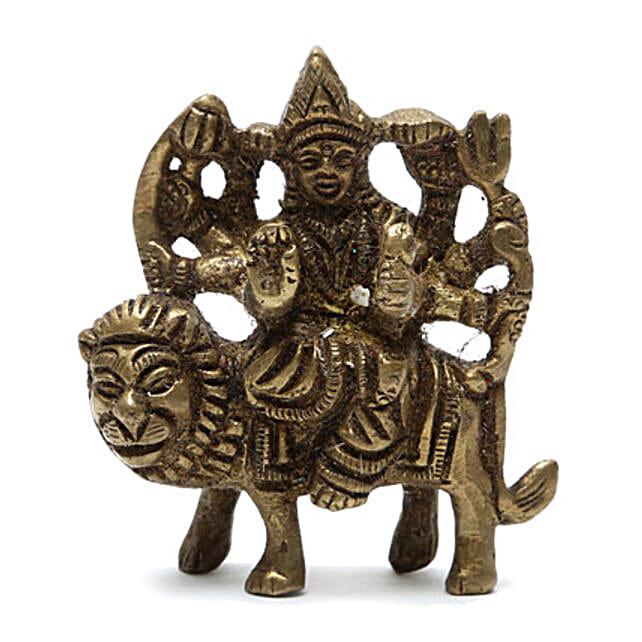 Maa Durga Brass Idol: Navratri Gifts