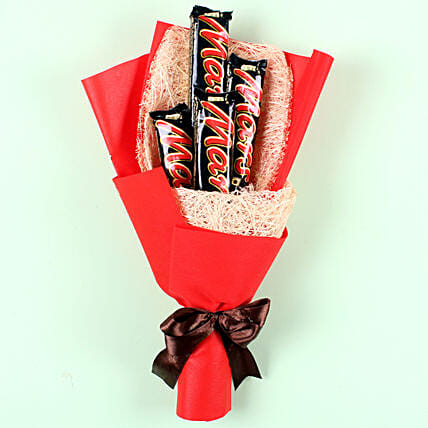 Mars Chocolate Bouquet: Gifts for Hug Day
