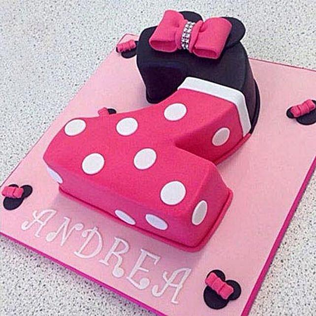 Minnie Love Cake: Minnie Mouse-cakes