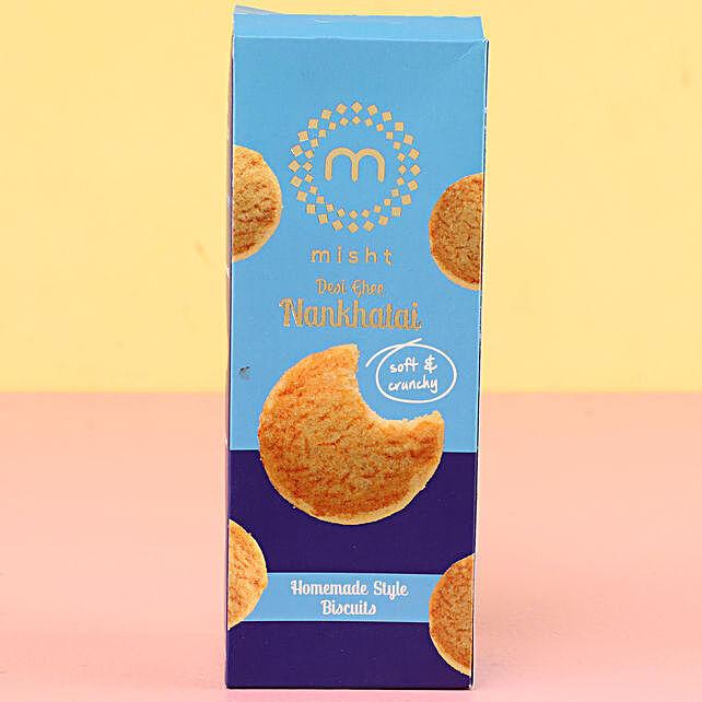 Misht Desi Nankhatai Cookies: Cookies