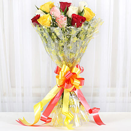 Marvellous Bouquet Of Roses: Romantic Gifts