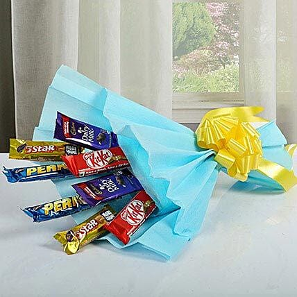 Mixed Chocolates Bouquet: Cadbury Chocolates
