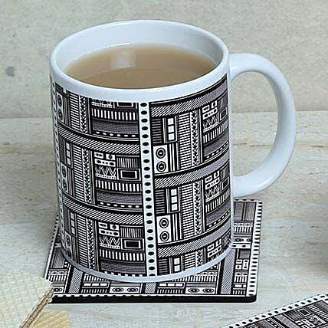 Mug With Matching Coaster: Coasters Gifts